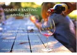 Summer Tasting 22/6