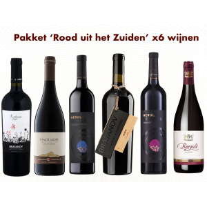 Box 'Red wines from the South' X6 bottles
