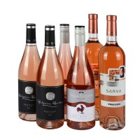 Case - Rosé fresh & fruity wines x6