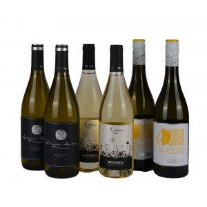 Mix Case White wines fresh & fruity x6