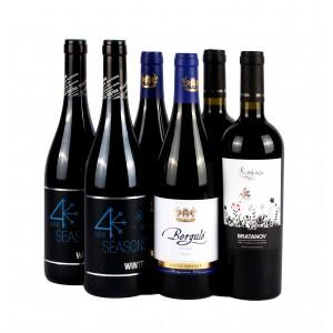 Proefpakket Rode volle & fruitige wijnen x6